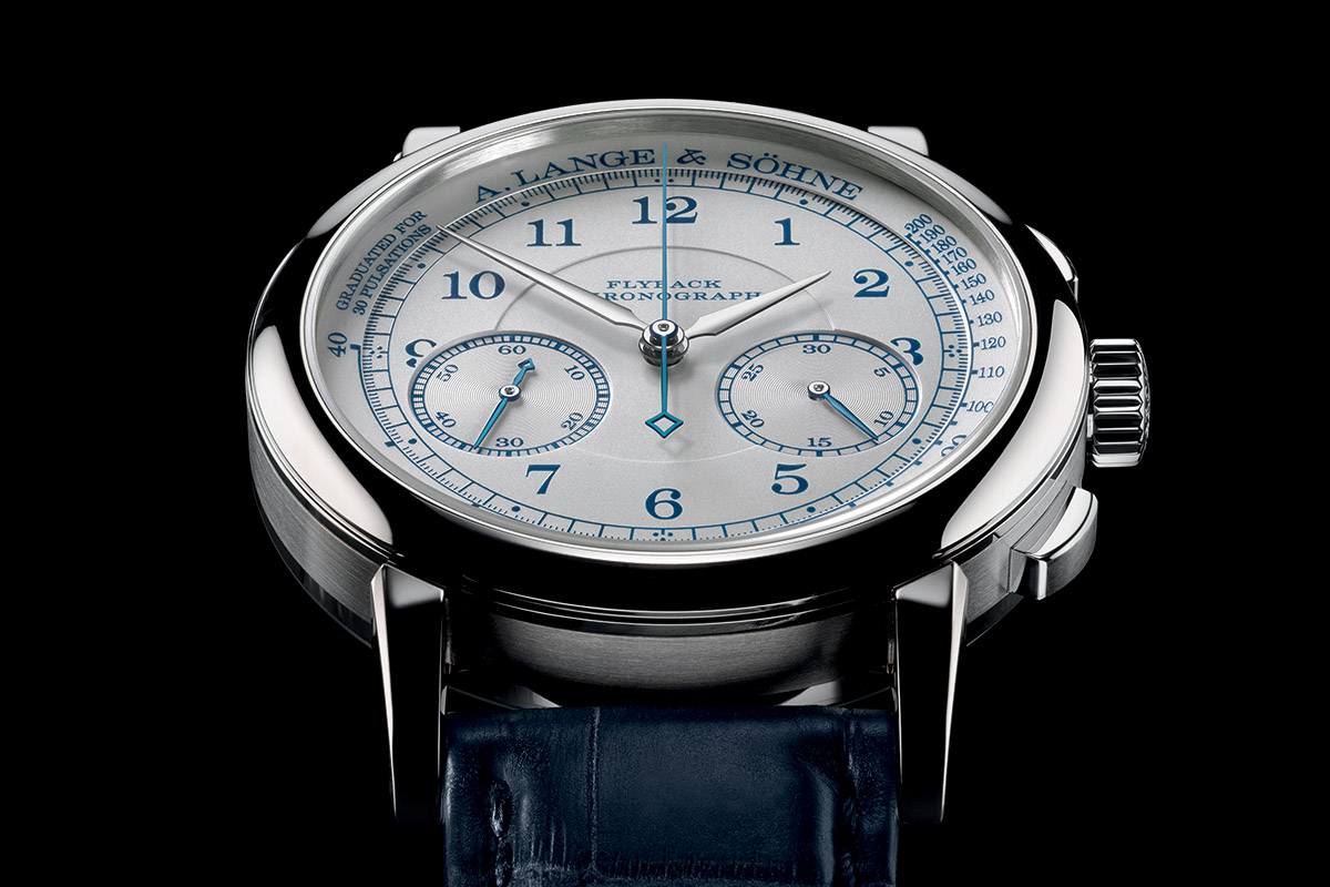 A. Lange and Sohne 1815 Chronograph Boutique Edition Pulsation Scale