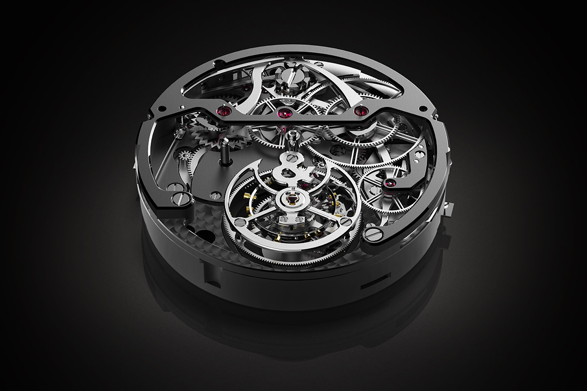 Bell and Ross BR-X1 Chronograph Tourbillon Monopusher