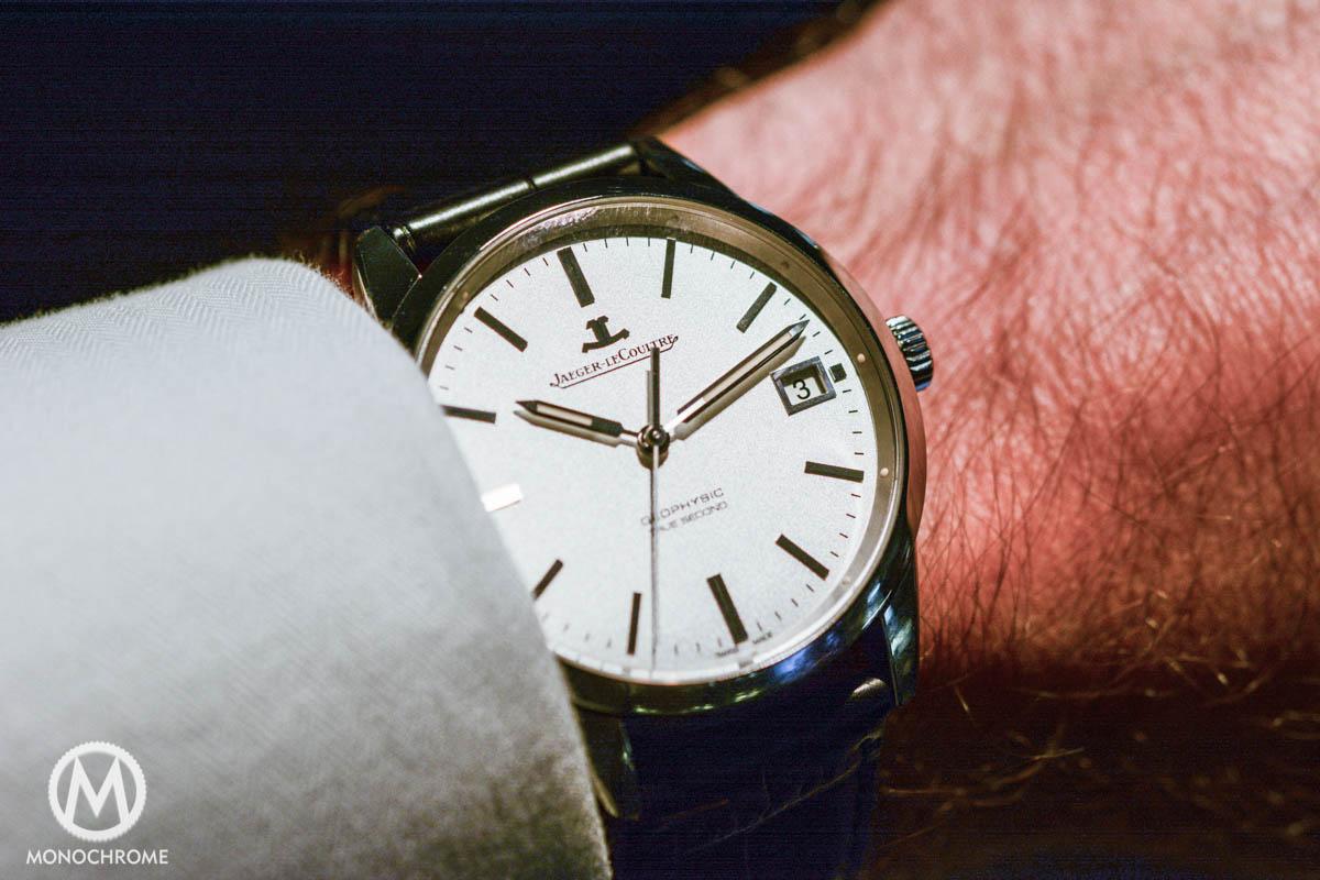 Jaeger-LeCoultre Geophysic True Second wristshot 1