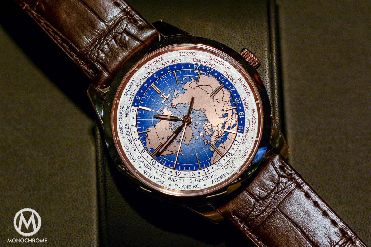 Jaeger-LeCoultre Geophysic Universal Time red gold