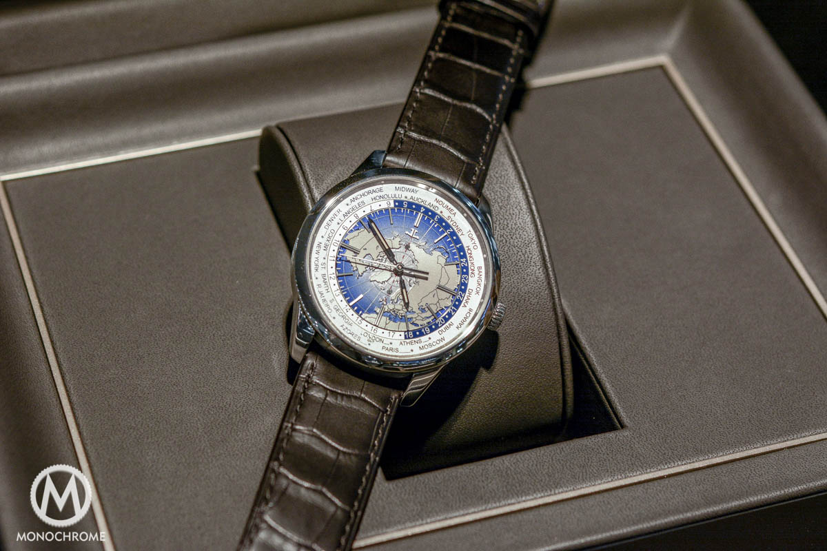 Jaeger-LeCoultre Geophysic Universal Time stainless steel