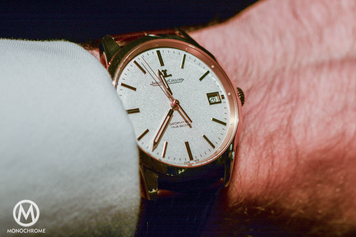 Jaeger-LeCoultre Geophysic True Second gold wristshot