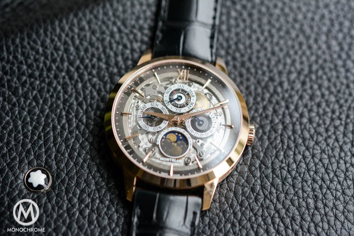 Montblanc Heritage Spirit Perpetual Calendar with Smoked Sapphire Crystal Dial