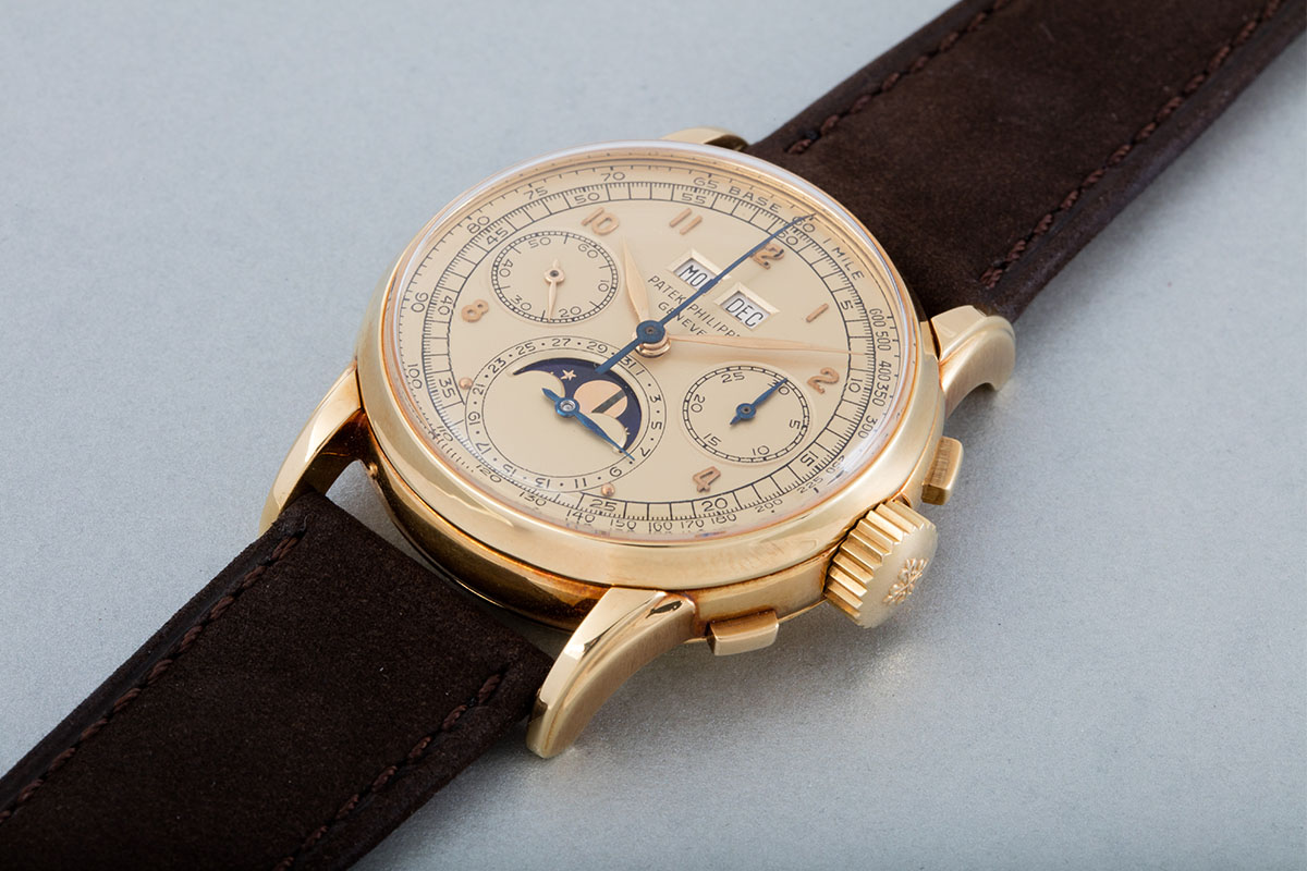 Patek Philippe Perpetual Calendar Chronograph Reference 2499 First Series 1