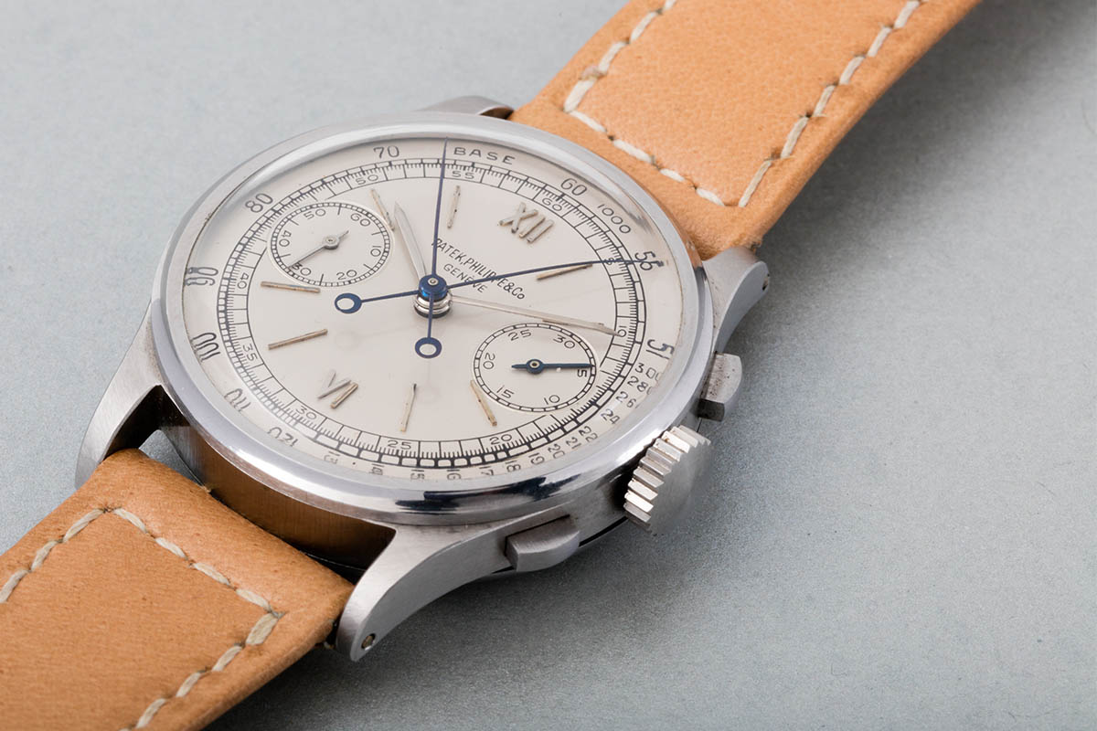 Patek Philippe Steel Split Seconds Chronograph Reference 1436