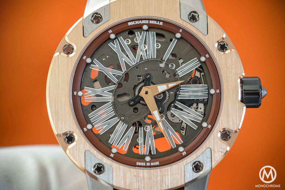 Richard Mille RM 033 Titanium Rose Gold Boutique Edition