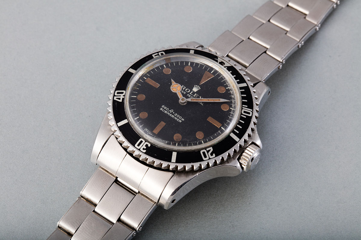 Rolex James Bond Submariner from Live and Let Die Reference 5513 1