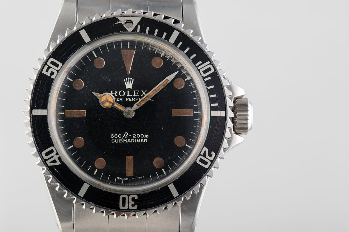 Rolex James Bond Submariner from Live and Let Die Reference 5513