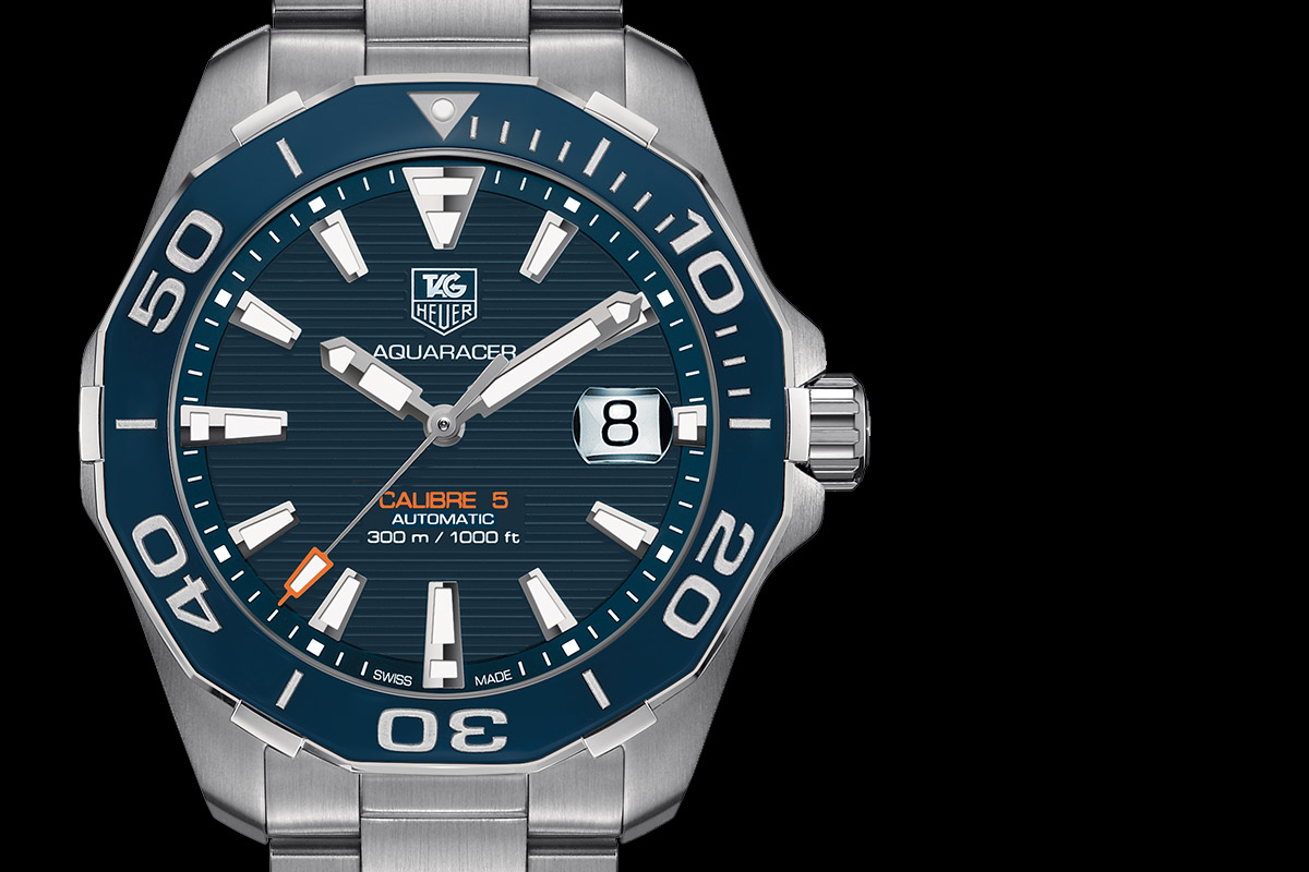 TAG Heuer Fortifies the AQUARACER 300M with a Ceramic Bezel (specs ... acf292e5e