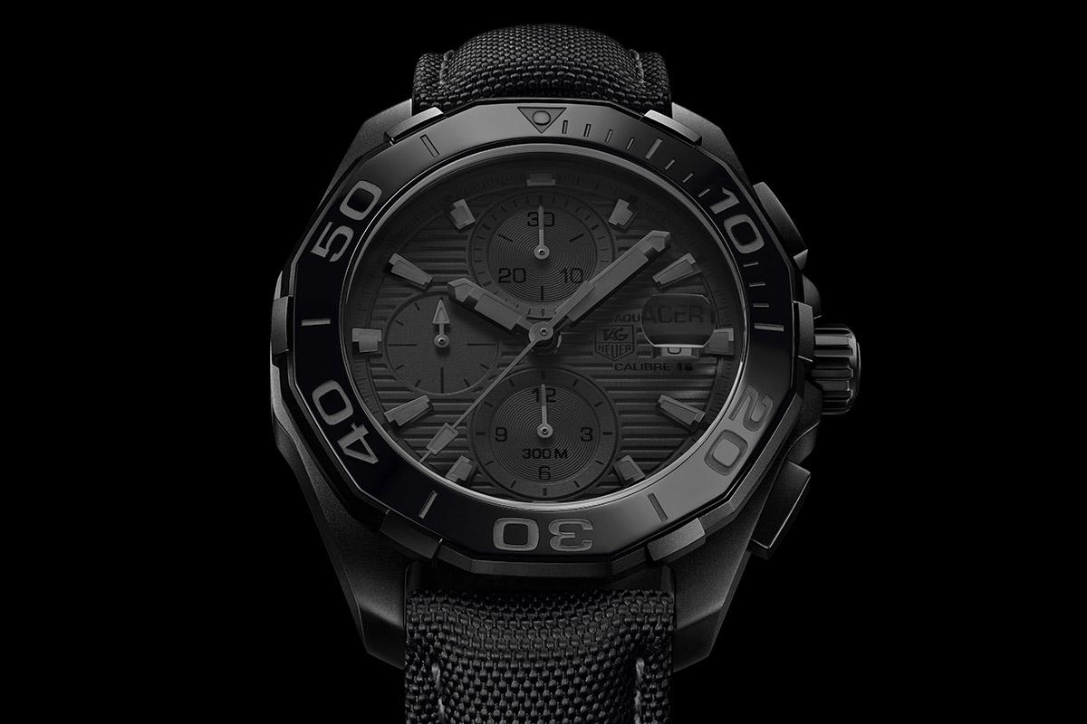 TAG Heuer Aquaracer 300m Black Phantom - 2015 Collection