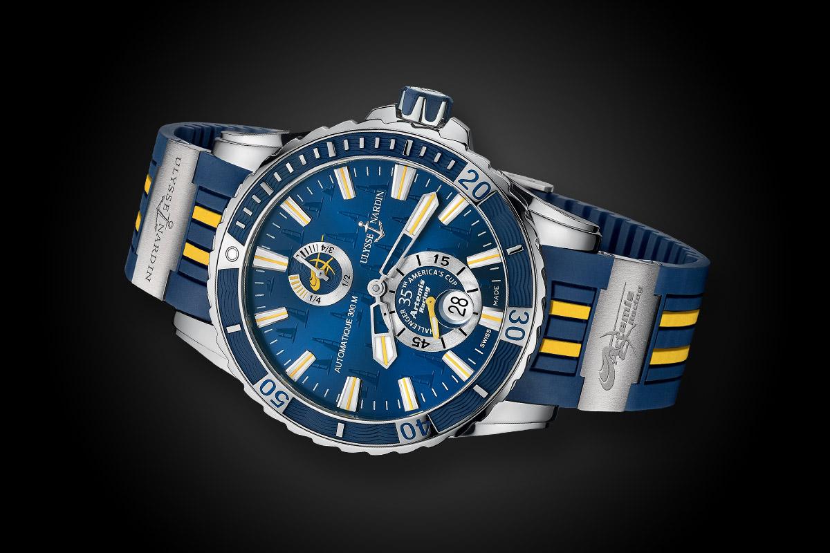 Ulysse Nardin Marine Diver Artemis Racing Limited Edition
