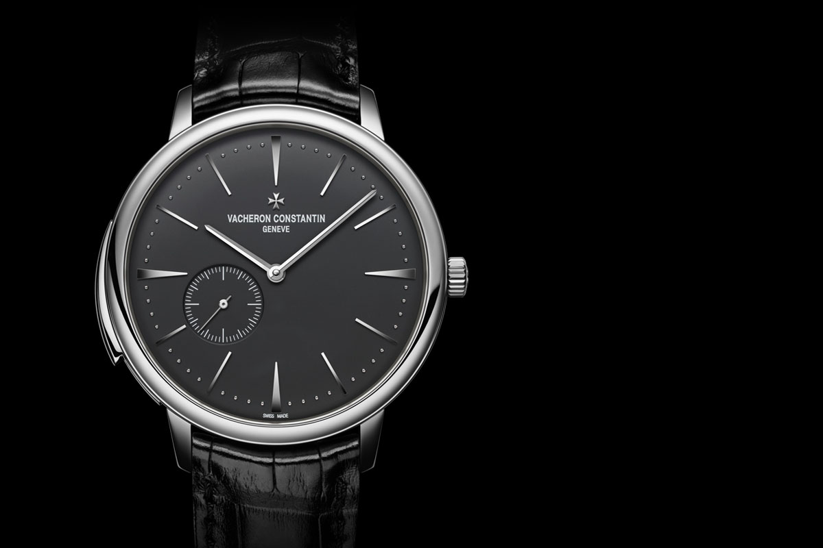 Vacheron Constantin Patrimony Ultra-Thin Minute Repeater Platinum black dial cover