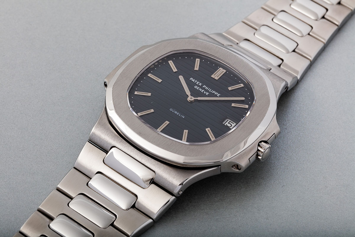 patek philippe nautilus 3700:1A retailed by gubelin