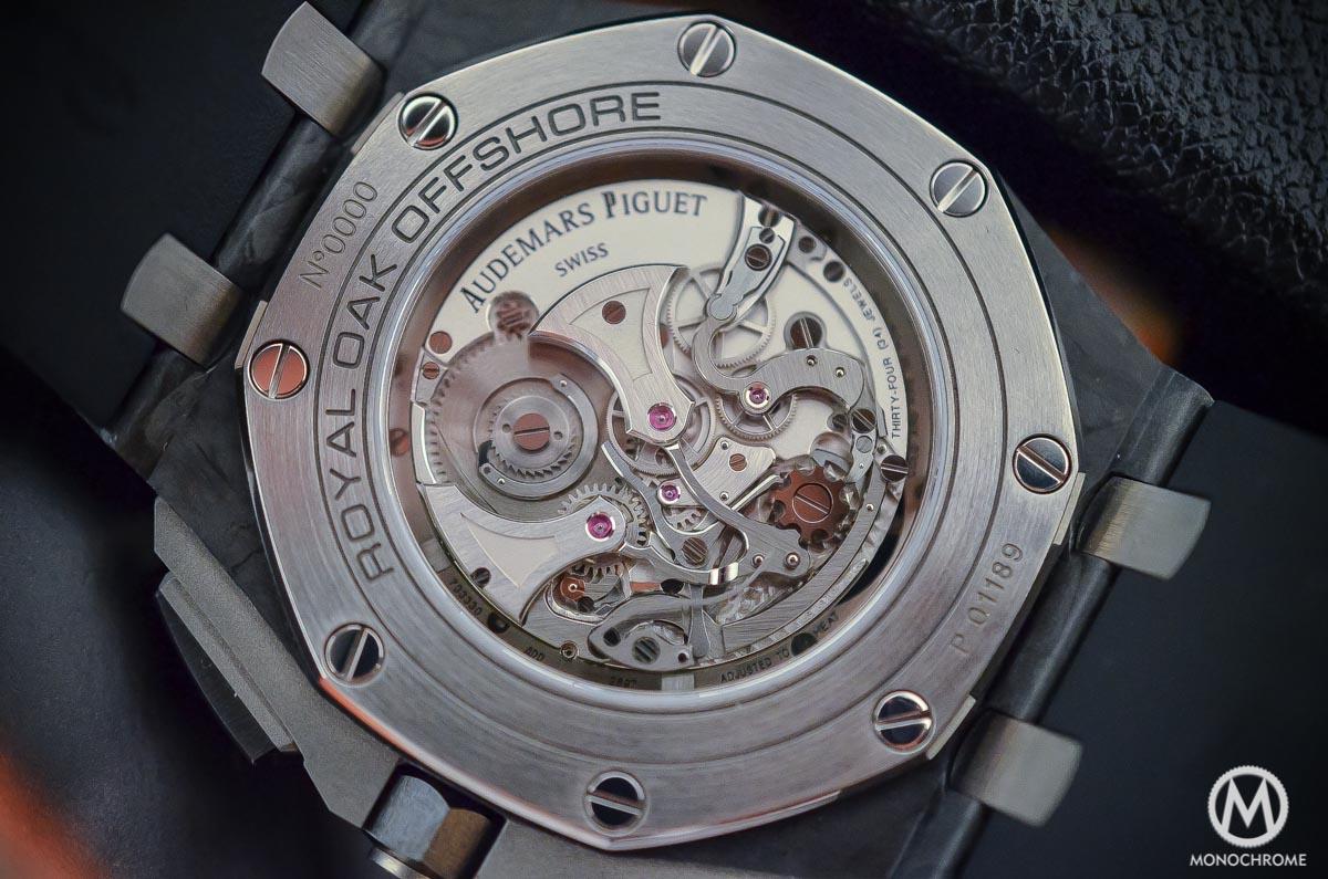 Audemars Piguet Royal Oak Offshore Selfwinding Tourbillon Chronograph - movement