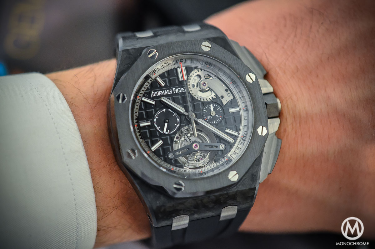 4c4fa52564c Audemars Piguet Royal Oak Offshore Selfwinding Tourbillon Chronograph - on  the wrist