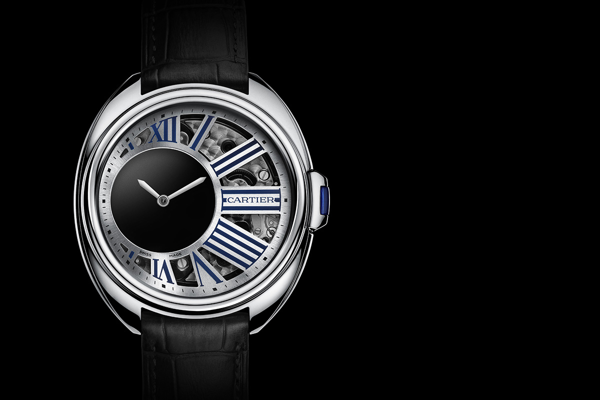 Clé de Cartier Mysterious Hour Palladium