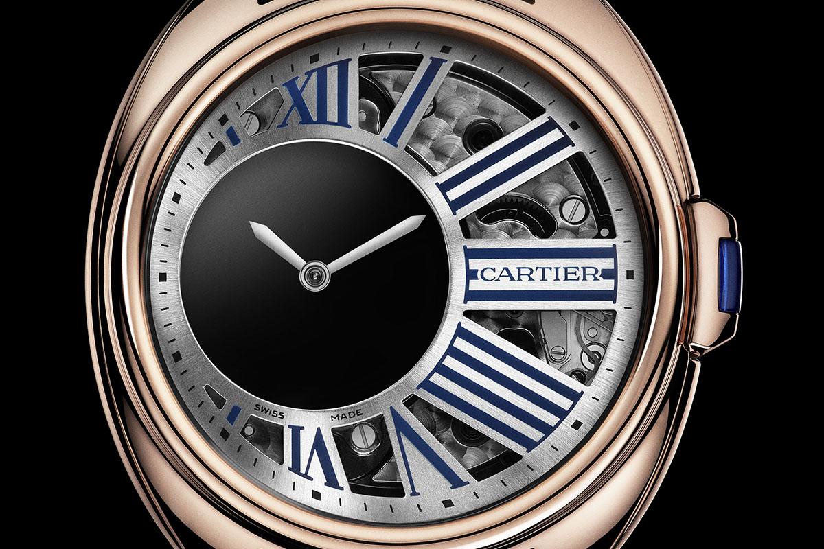 Clé de Cartier Mysterious Hour pink gold dial