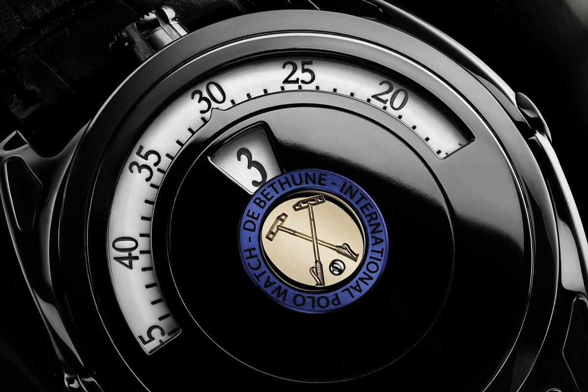 De Bethune DB27 D Polo Edition close up