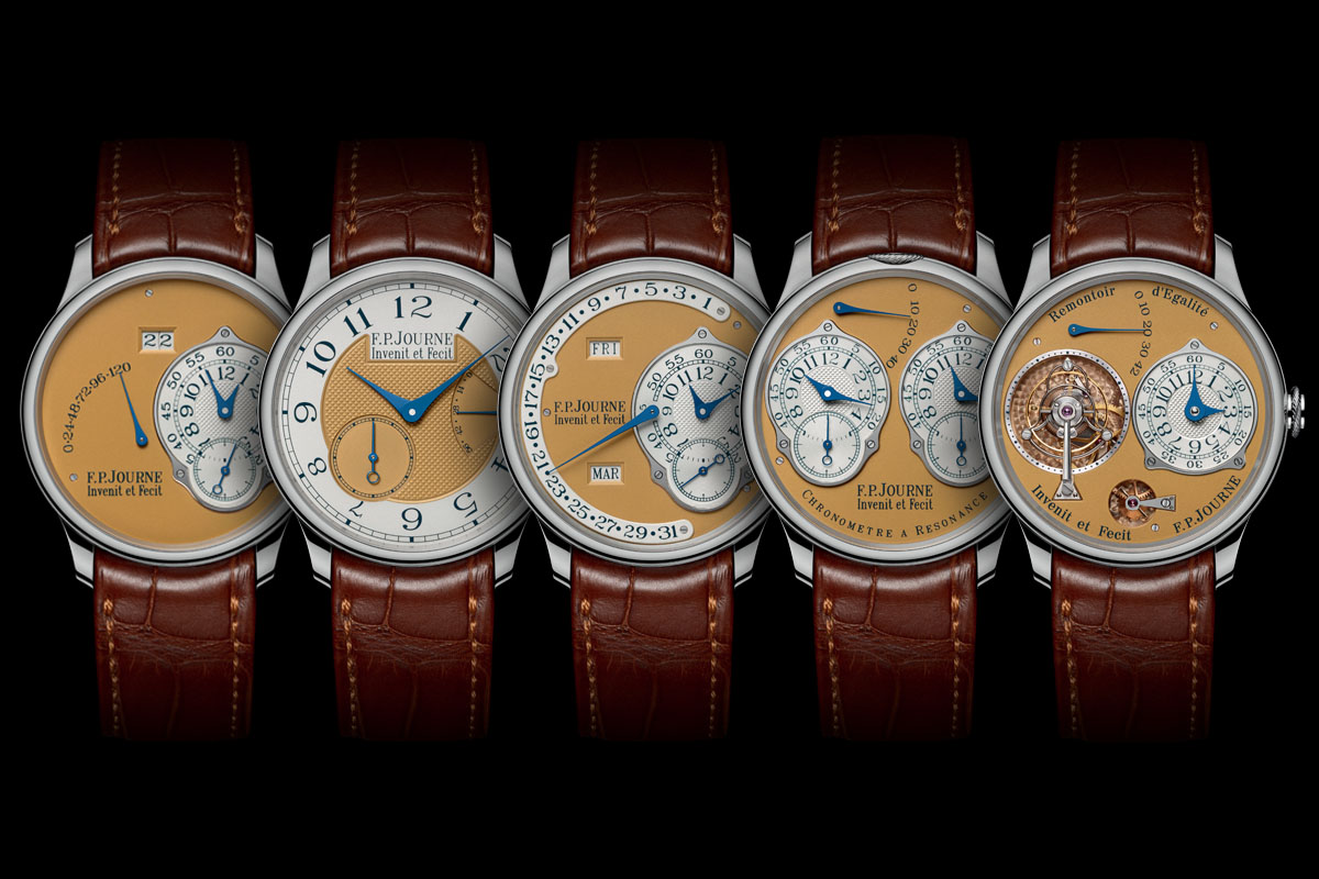 FP Journe Steel 38mm Final Edition complete set cover