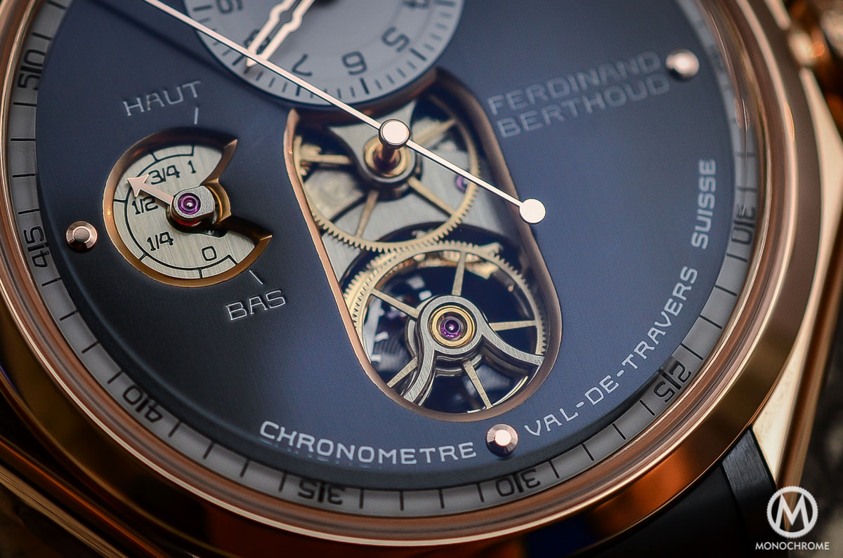 Ferdinand Berthoud Chronometre FB 1 - Central second tourbillon