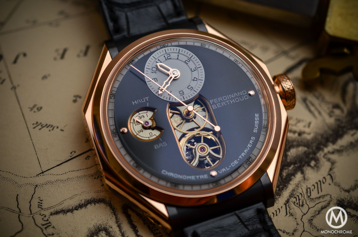 Ferdinand Berthoud Chronometre FB 1 - pink gold case