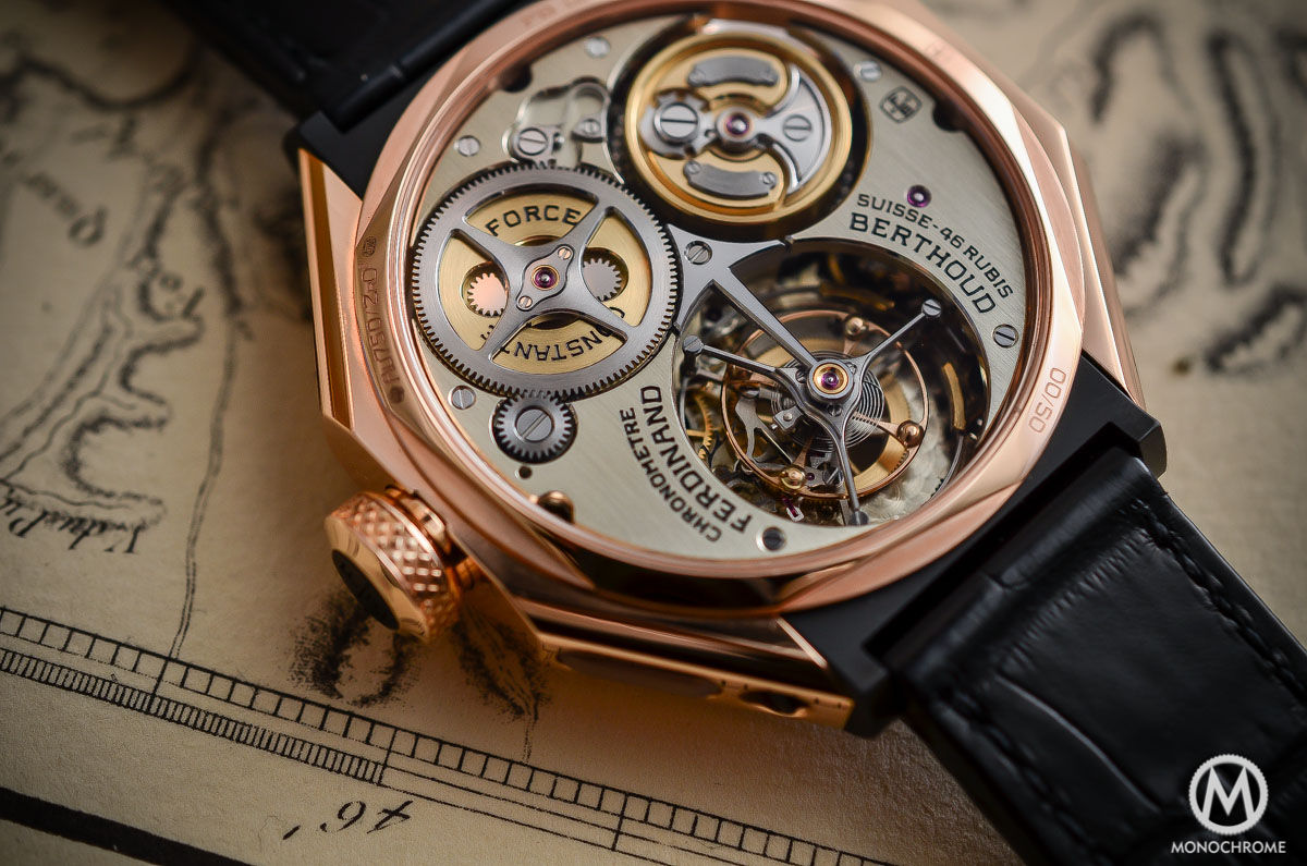 Ferdinand Berthoud Chronometre FB 1 - tourbillon movement
