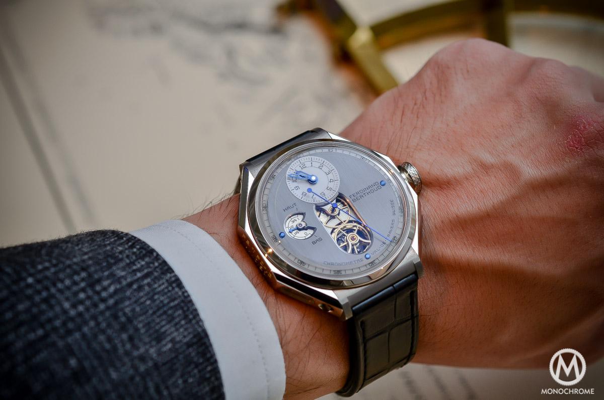 Ferdinand Berthoud Chronometre FB 1 - white gold wristshot