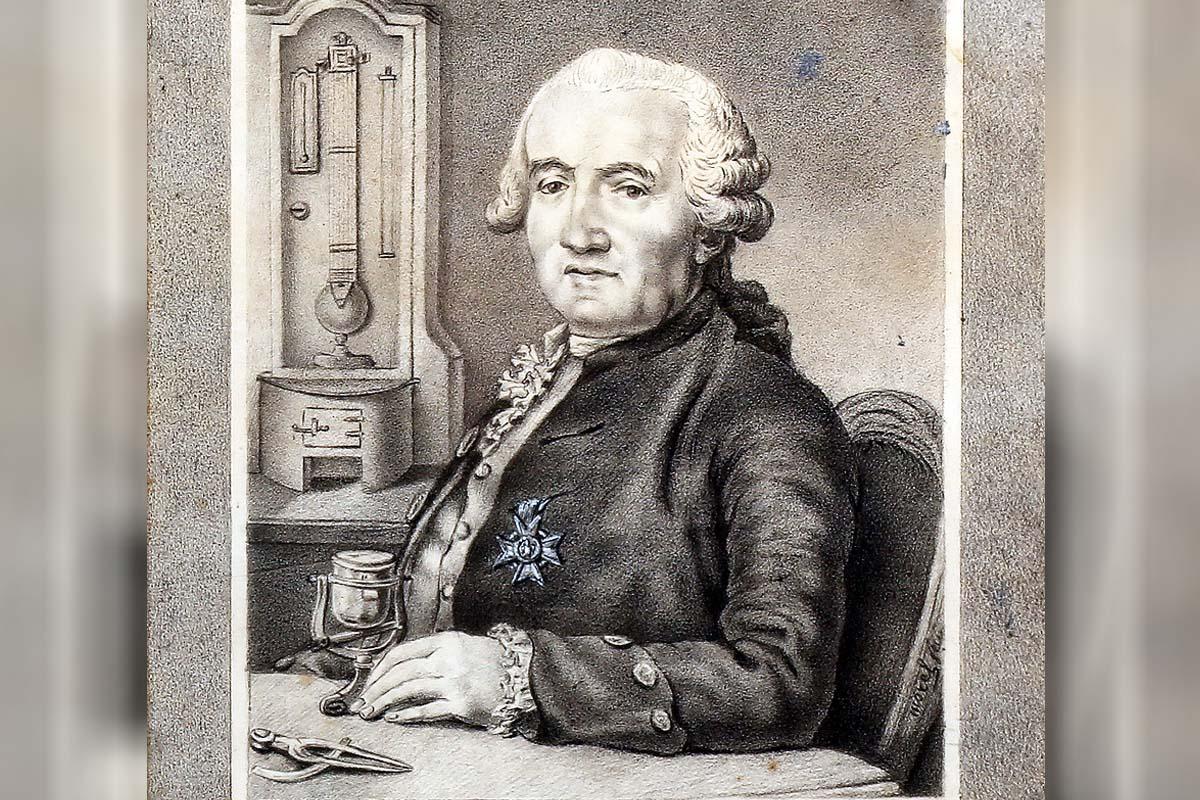 Ferdinand Berthoud Portrait