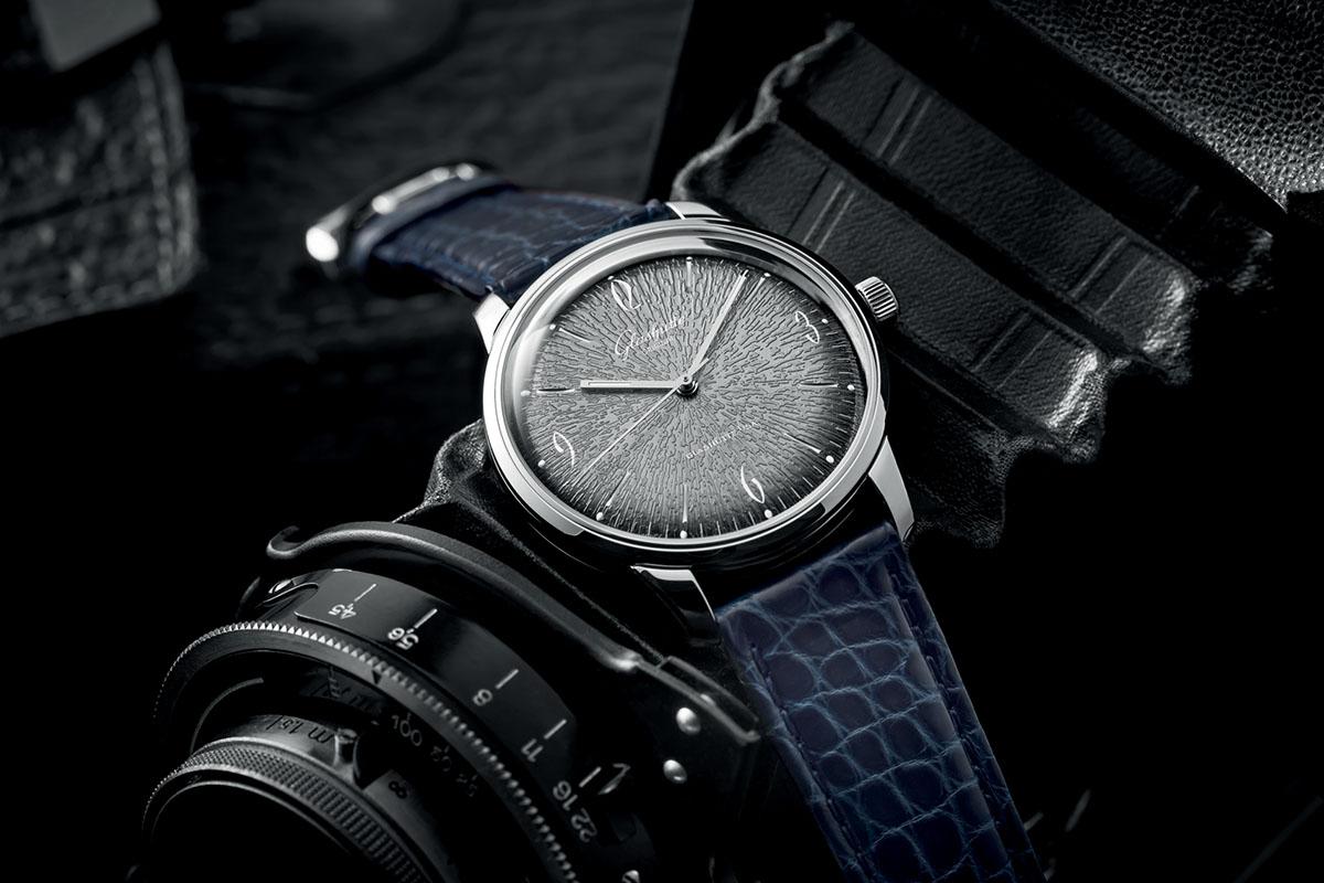 Glashutte Original Sixties grey dial full