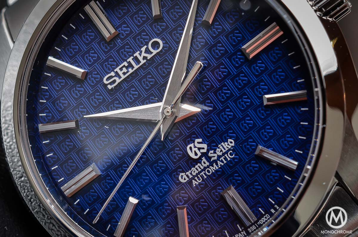 Grand Seiko SBGR097 Limited Edition Automatic 9S61 42mm Blue dial - dial