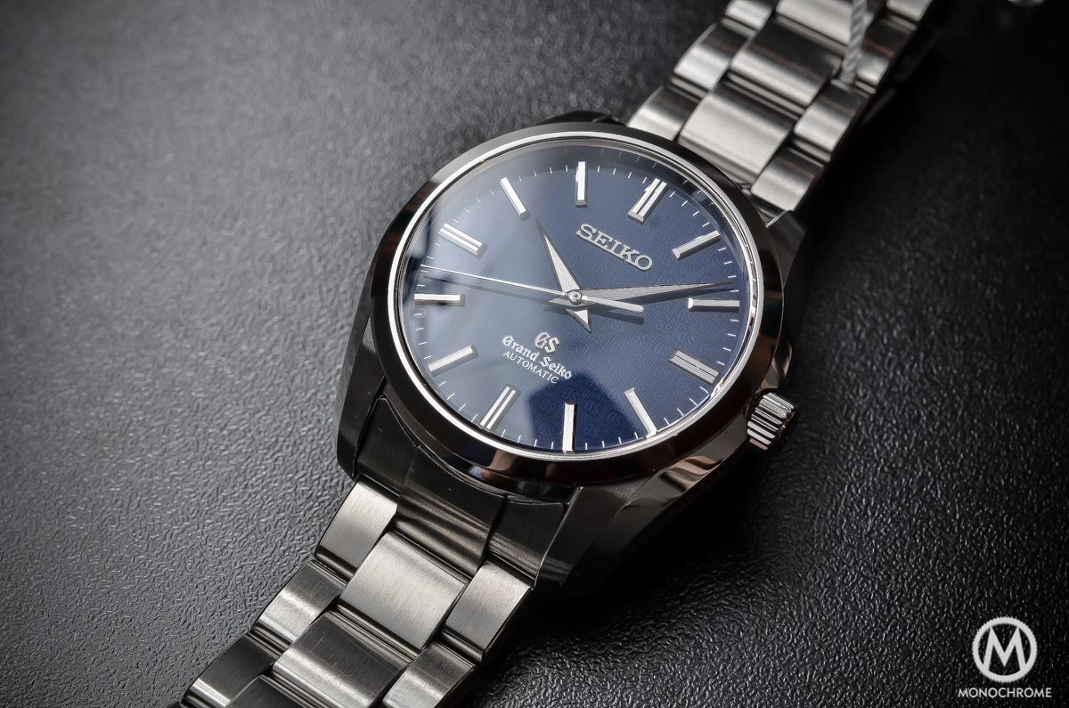 Grand Seiko SBGR097 Limited Edition Automatic 9S61 42mm Blue dial - full case