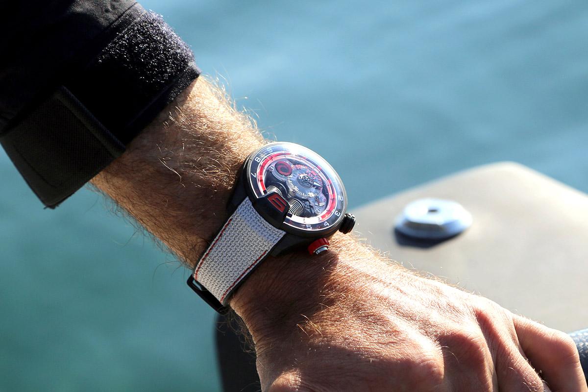 HYT H4 Alinghi - wristshot