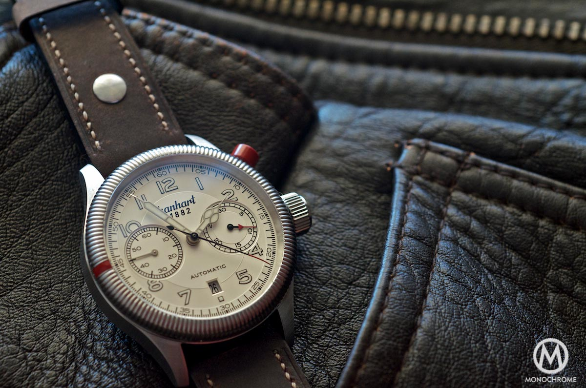 Hanhart Pioneer Monocontrol use of chronograph