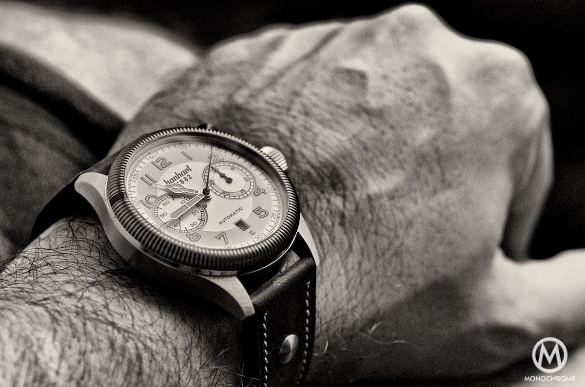 Hanhart Pioneer Monocontrol wristshot