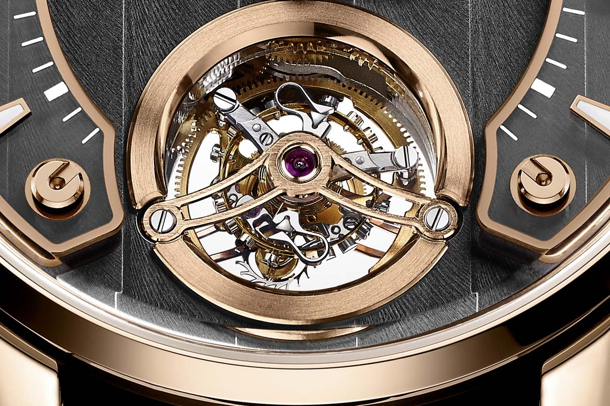 Hautlence Tourbillon 01 Close up