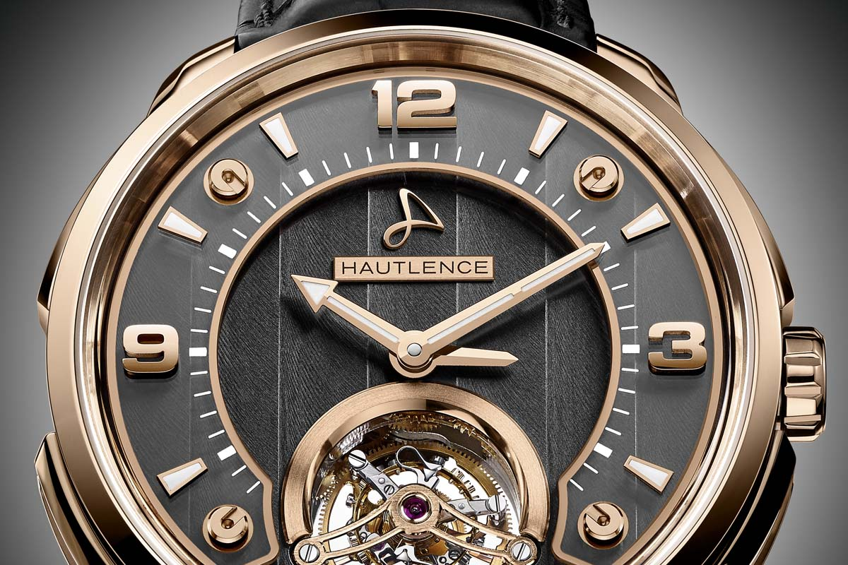 Hautlence Tourbillon 01 hands and dial