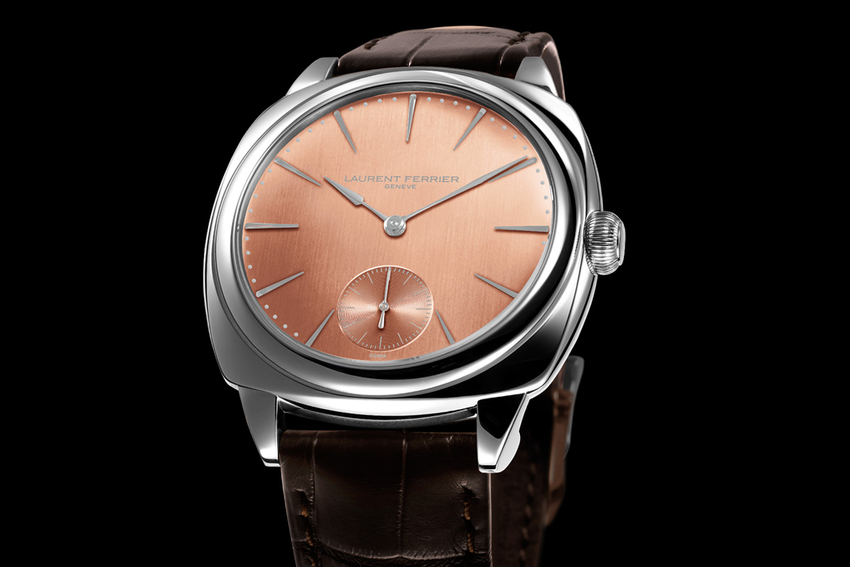 Laurent Ferrier Galet Square Autumn - Red Gold dial
