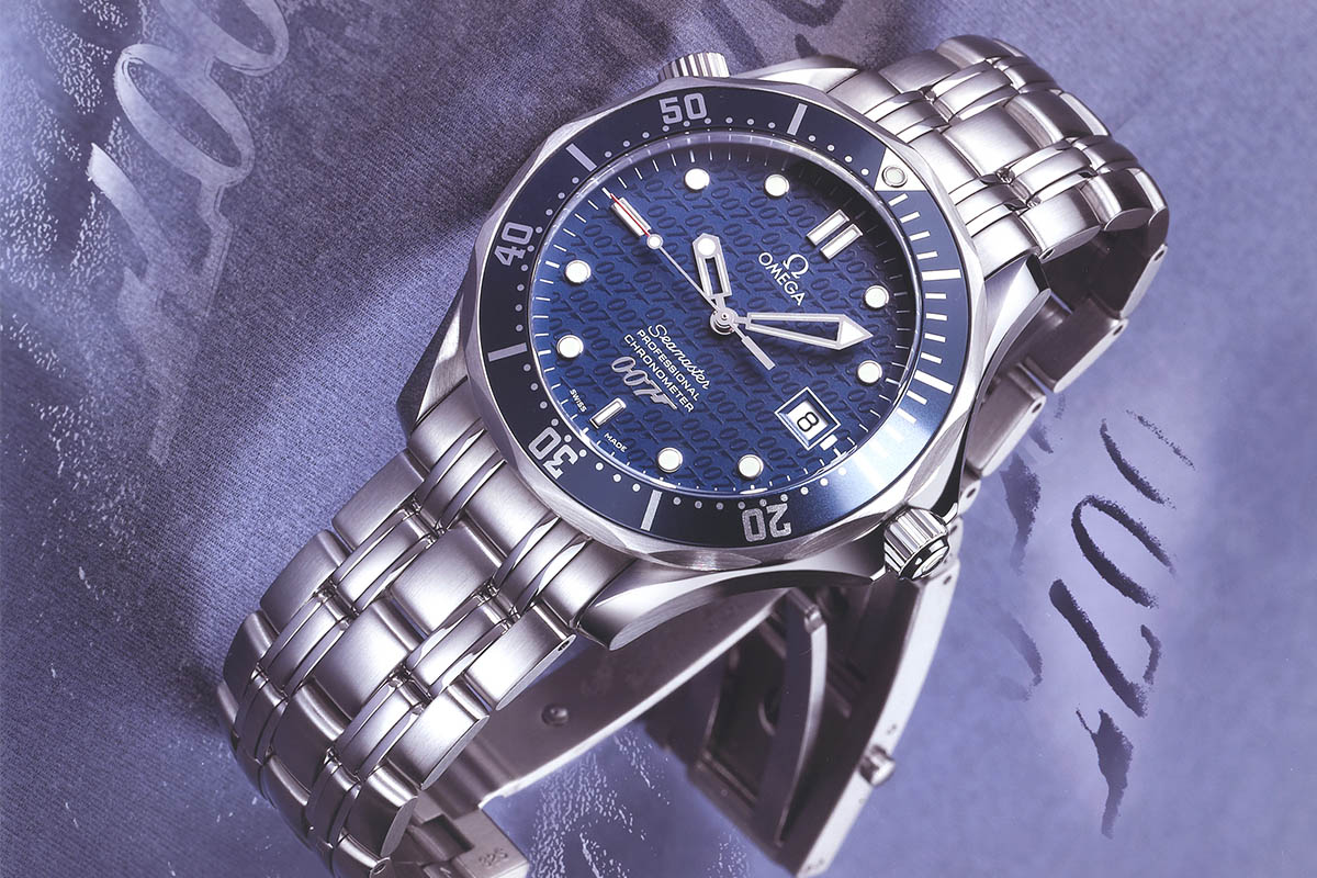b02b16fe9a5 Omega Seamaster - limited edition - Die Another Day James Bond 007 - 2002