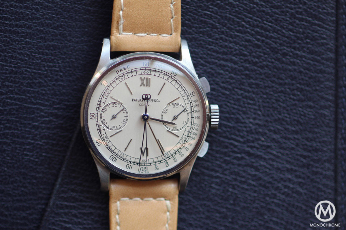 Patek Philippe 1436 Split Seconds Chronograph Steel - Phillips Auction