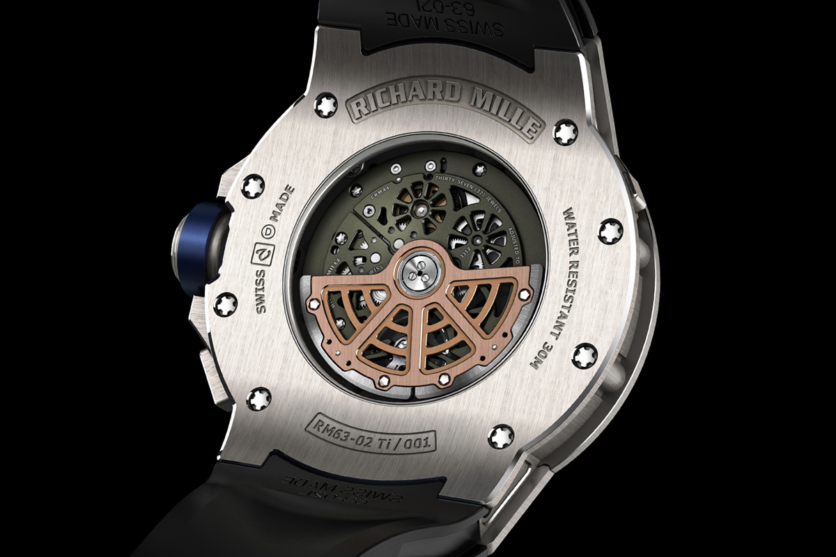 Richard Mille RM 63-02 World Timer Automatic - movement