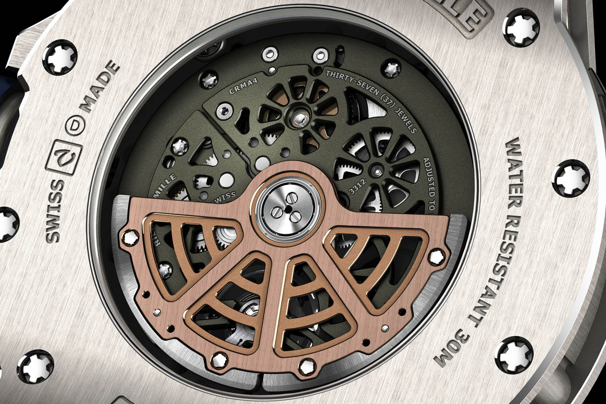 Richard Mille RM 63-02 World Timer Automatic - mvoement detail
