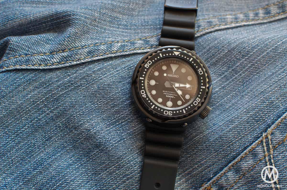 Seiko Darth Tuna SBBN013 Prospex - black dial