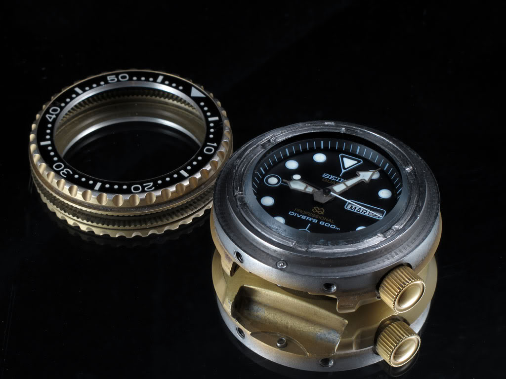 Seiko Golden Tuna Quartz 7549-7009 - 3