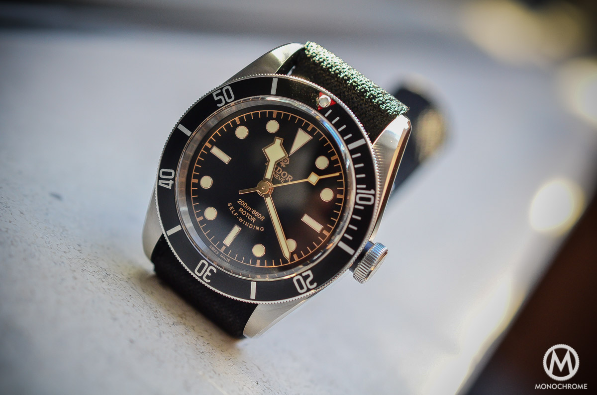 Tudor Black Bay Black Bezel 79220N - lifestyle sunlight