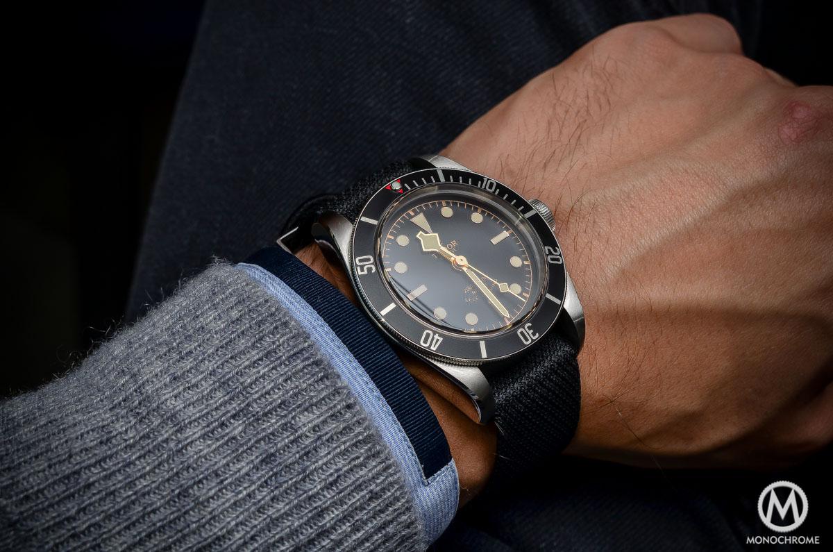 Tudor Black Bay Black Bezel 79220N - wristshot 2