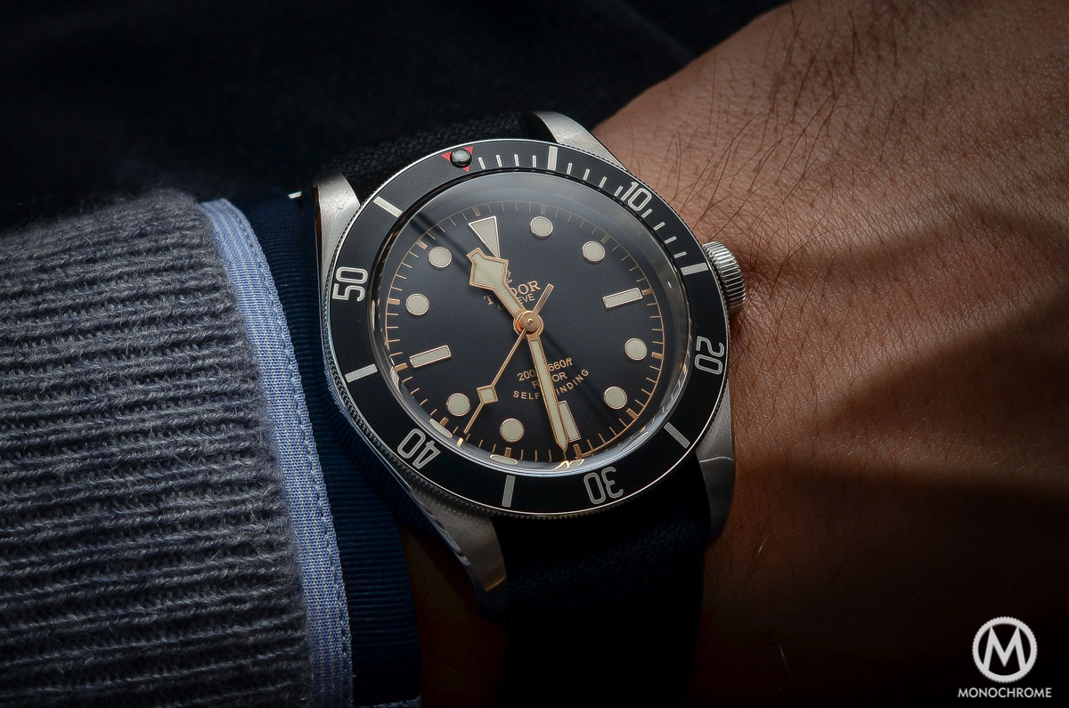 Tudor Black Bay Black Bezel 79220N - wristshot 3