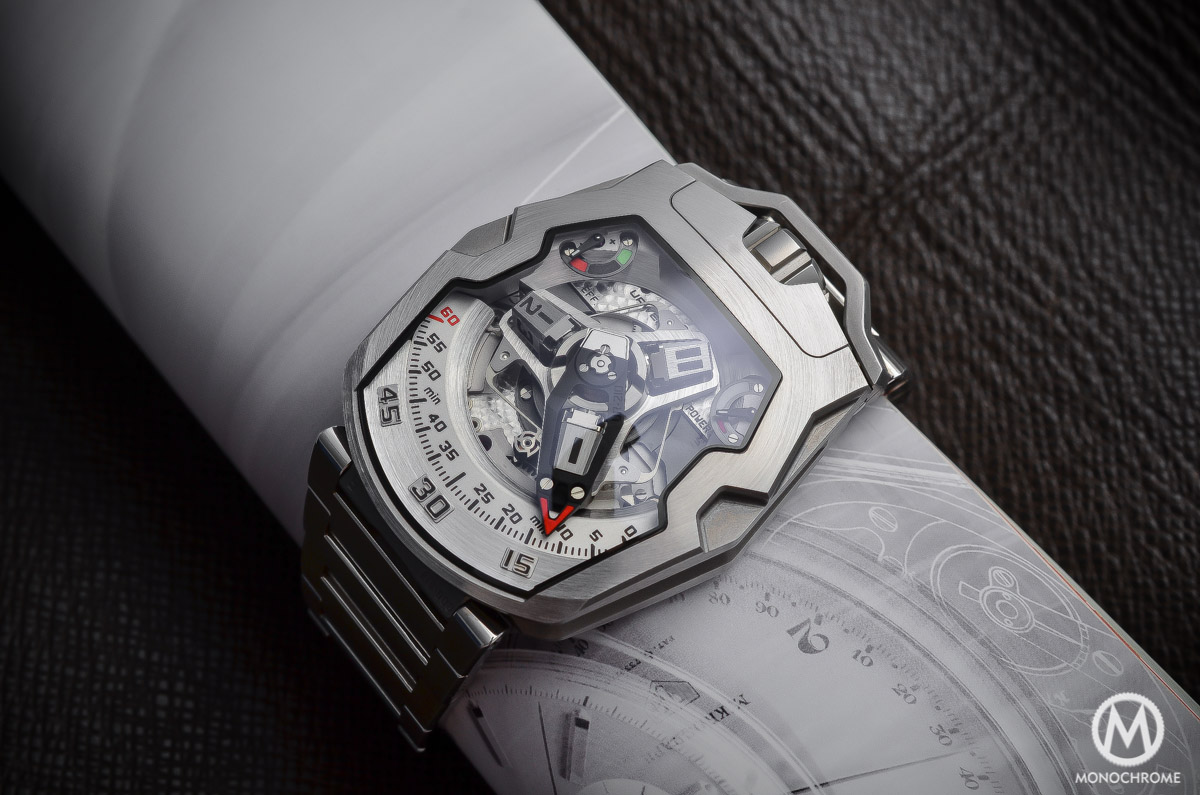 URWERK UR-210 Full Metal Jacket