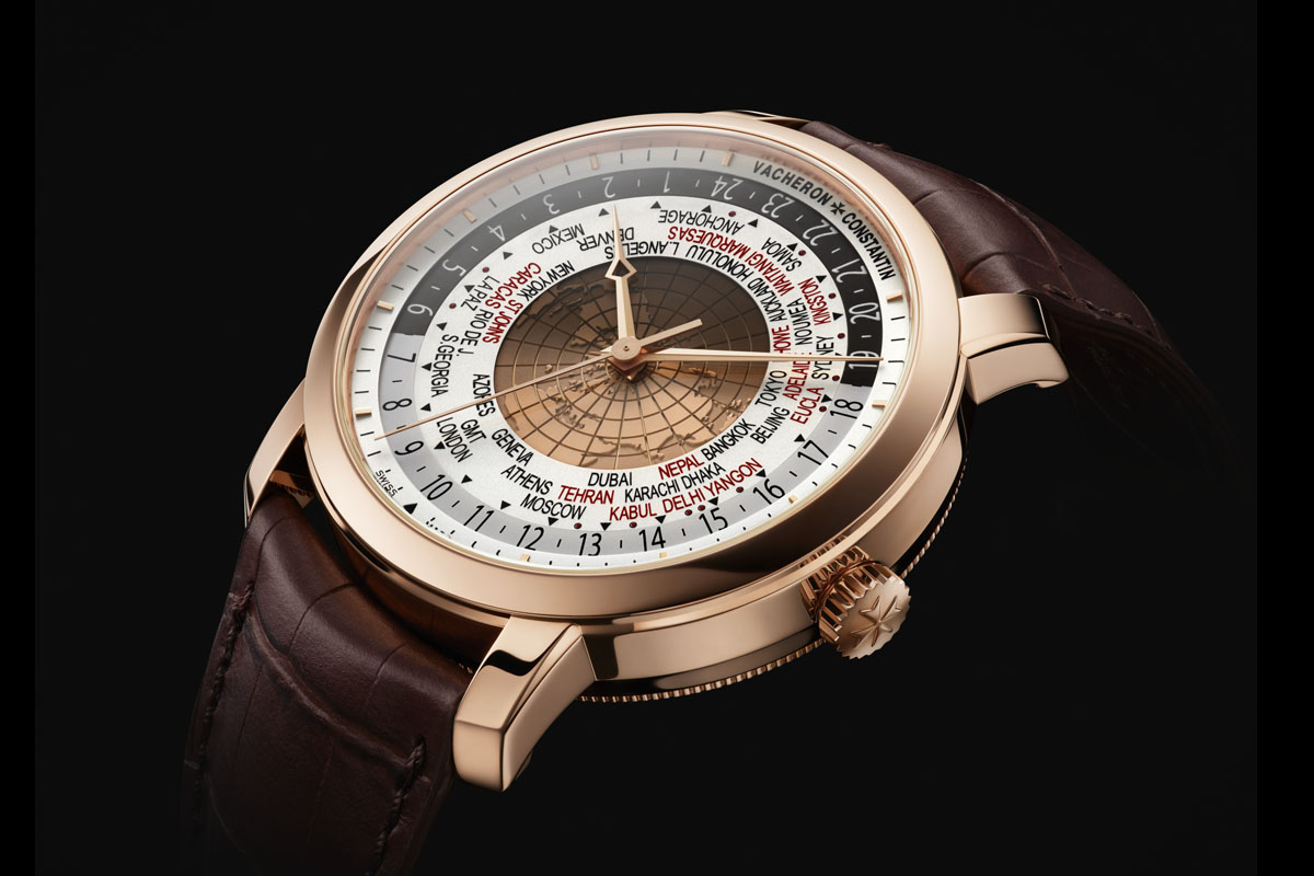 Vacheron Constantin Traditionnelle World Time 2015 Edition Pink Gold full