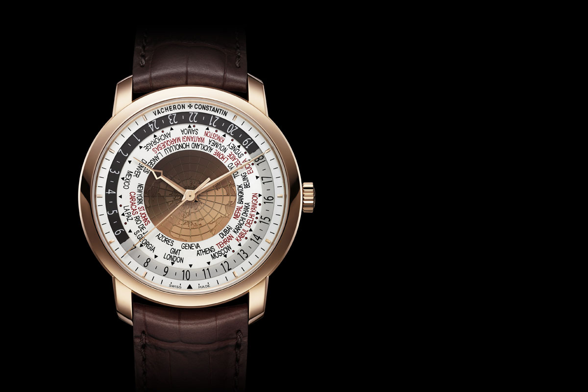 Vacheron Constantin Traditionnelle World Time 2015 Edition Pink gold
