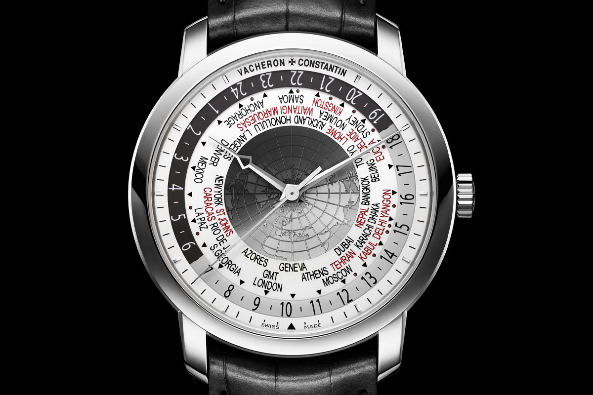 Vacheron Constantin Traditionnelle World Time 2015 Edition White gold